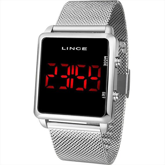 Relógio Lince Unissex Led Mdm4596l Pxsx