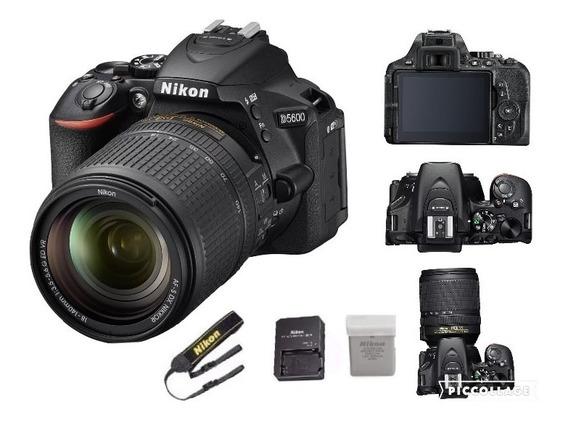 Câmera Nikon D5600 Com Lente 18-140mm