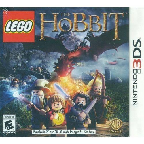 3ds Lego The Hobbit Novo Lacrado