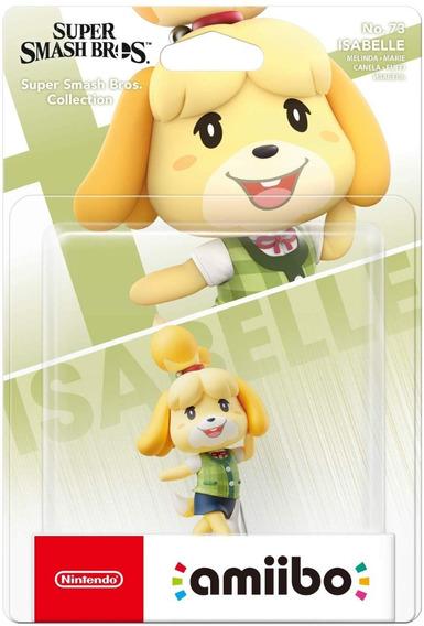 Amiibo Isabelle Super Smash Bros Nintendo Switch 3ds