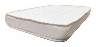 Colchón Para Cuna Colecho 50 X 80 X 7 Cm Franjas Blancas