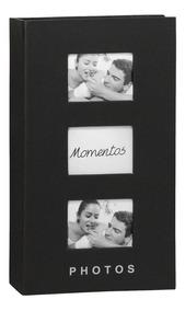 Álbum Para 300 Fotos 10x15cm Cartonado Preto