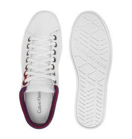 Tênis Calvin Klein Recortes Branco