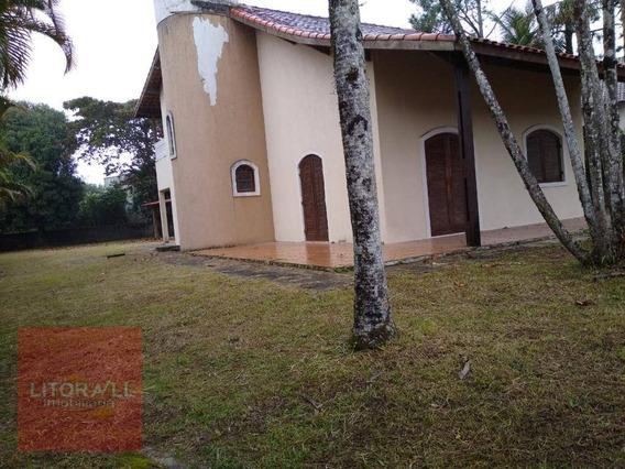 Sobrado Com 4 Dormitórios Para Alugar, 140 M² Por R$ 1.800,00/mês - Jardim Cibratel Ii - Itanhaém/sp - So0331