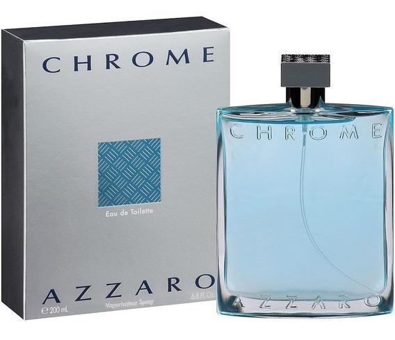 Perfume Azzaro Chrome Eau De Toilette 50ml Lacrado