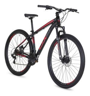 Bicicleta Mtb Ox Bike Aro 29 Hard Glide - Preto E Vermelho
