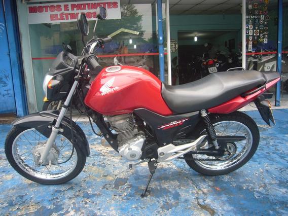 Honda Cg 160 Start Vermelha 2017 R$ 8.999 Troca Financia