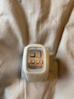 Reloj Watch Blanco Unisex Usado