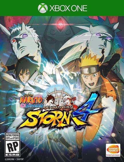 Naruto Ultimate Ninja Storm 4 Xbox - Original ( 25 Dígitos )