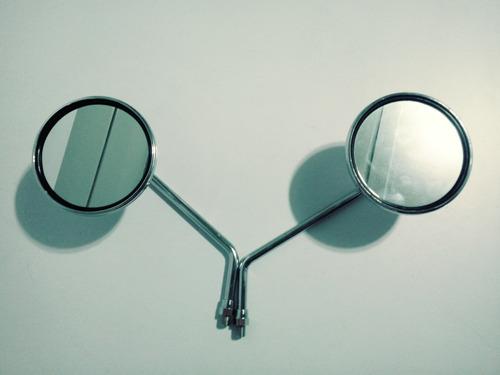 Imagem 1 de 3 de Espelho Retrovisor Cb 400 Modelo Original ( Par )