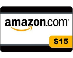 Amazon Store Gift Card $15