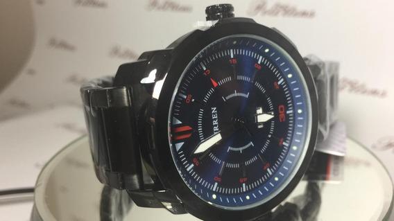 Relógio Masculino Pulso Curren 8266 Quartzo Esportivo K3859