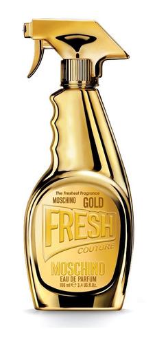 Imagen 1 de 3 de Perfume Importado Mujer Moschino Fresh Gold Edp - 100ml