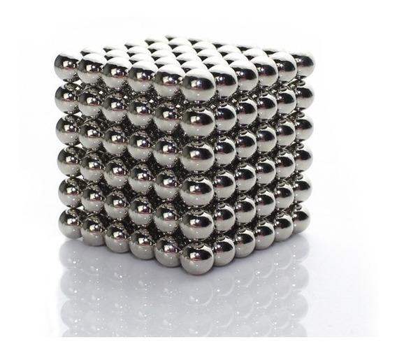 Neocube Neodimio Cubo Com 216 Esferas Magnéticas De Imã 3mm