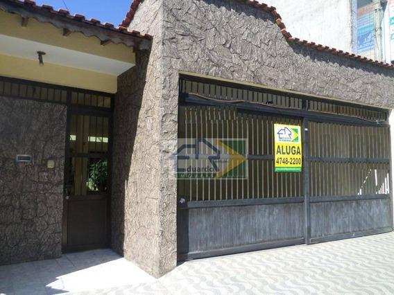 Casa Com 4 Dormitórios Para Alugar, 324 M² Por R$ 2.500/mês - Centro - Suzano/sp - Ca0257