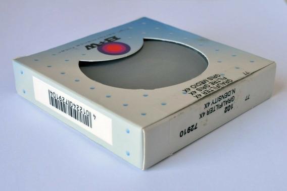 Filtro B+w 77mm Nd 4x Densidade Neutra Graufilter Original