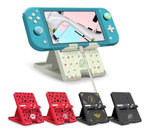 Base Soporte Para Nintendo Switch Plegable Angulo Ajustable