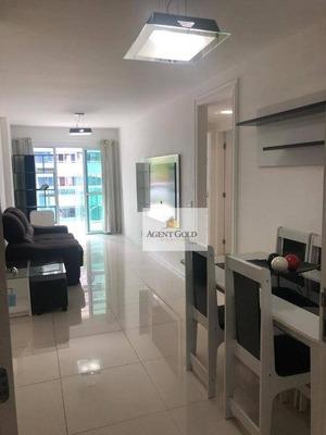 Apartamento Com 2 Dormitórios À Venda, 68 M² Por R$ 594.900 - Barra Da Tijuca - Rio De Janeiro/rj - Ap0296