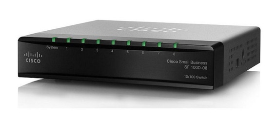Switch Cisco Small Business Sf 100d-08 Sd208t-na