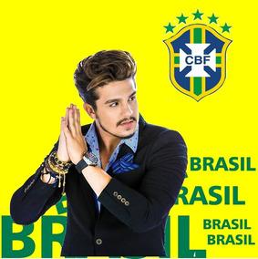 Camisa Copa Brasil Luan Santana 2018 Frete Gratis 17