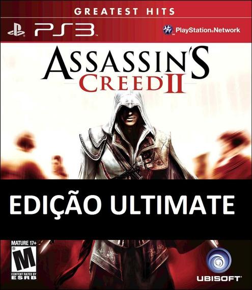 Assassins Creed 2 Ii Ultimate Edition Ps3 Psn Midia Digital