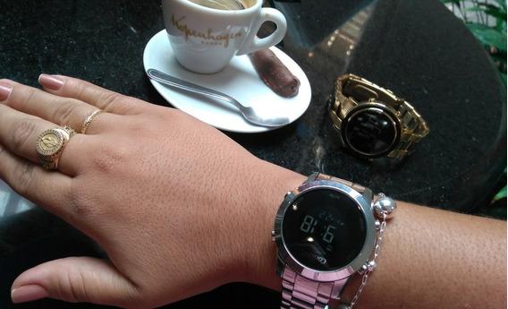 Relógio Prata Digital Condor