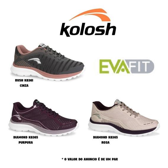 Tênis Feminino Kolosh K8365 K8361