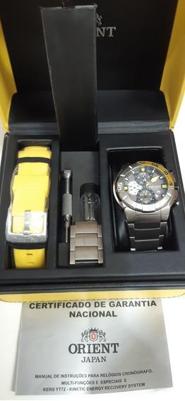 Relógio Orient Titanium Mbttc 003