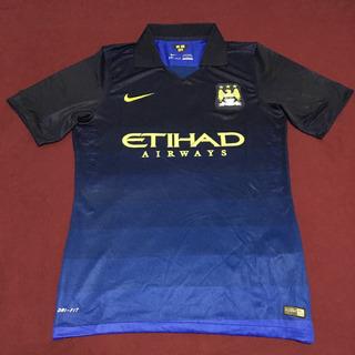 Camisa Nike Manchester City Inglaterra Away 14 15