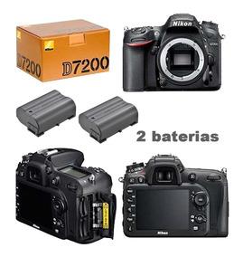 Nikon D7200 Corpo Com+baterias