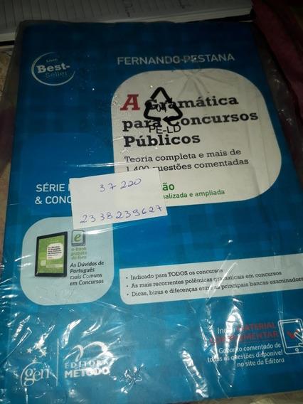 Livro A Gramática Para Concursos Públicos- Fernando Pestana