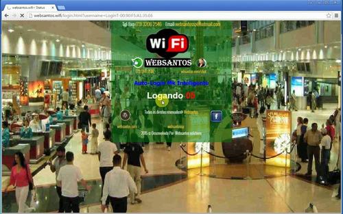Imagem 1 de 6 de Wifi Sem Senha Com Cadastro No Primeiro Acesso Wif Mikrotik