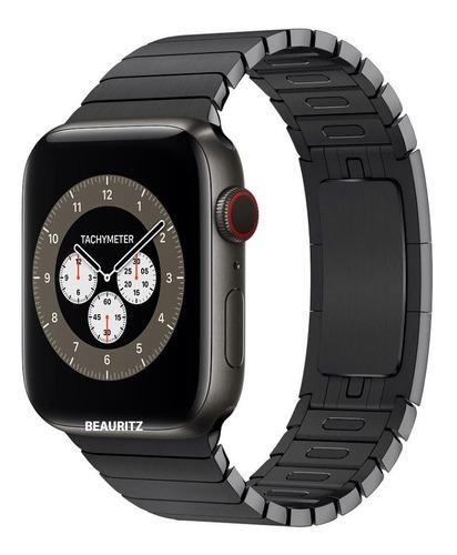 Apple Watch Series 6 Titanium 44mm Space Gray Link Bracelet