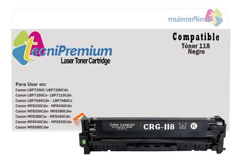 Toner Generico 118 Para Canon Lbp7680cx Mf8330cdn Mf8340cdn