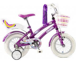 Bicicleta Olmo Tiny Rod 12 Nena Nueva Violeta Envio Gratis!!