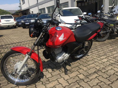 Honda Cg 125 Fan Ks Vermelha