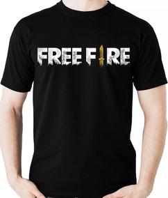 Camiseta Free Fire Camisa 100 % Algodão De Alta Qualidade