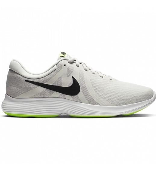 Zapatillas Nike Running Revolution 4 White/green Us11 Y Us12
