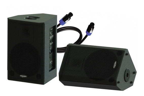 Kit Caixa Retorno Monitor 12 Pol 380w Usb Bluetooth Ll Audio