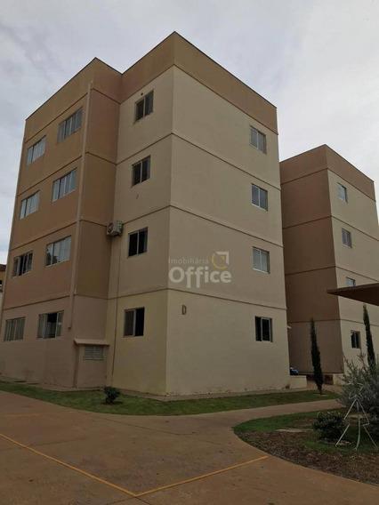 Apartamento Com 1 Dormitório À Venda, 82 M² Por R$ 180.000 - Vila Góis - Anápolis/go - Ap0006