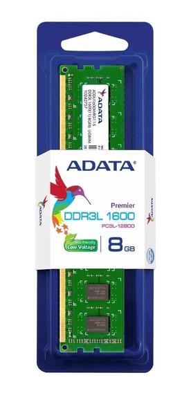 Memoria Ram 8gb Ddr3 1600 Mhz Adata Premier Blister Cerrado