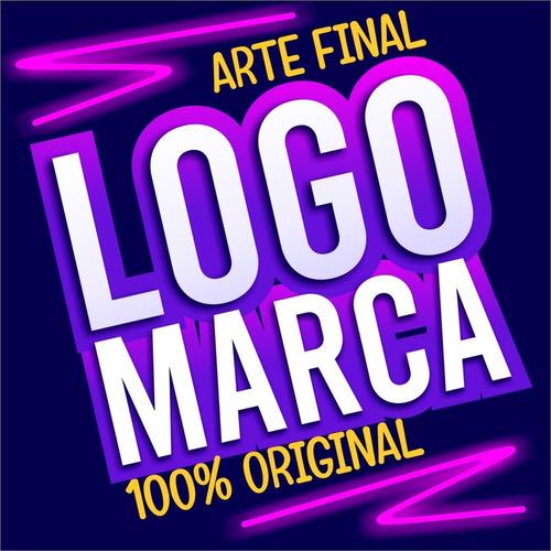 Logomarca Logotipo Criação Marca Criar Logo Proficional Luxo