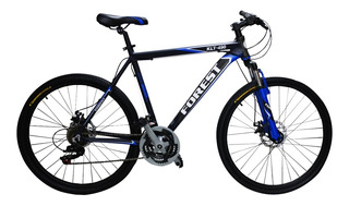 Bicicleta Mountain Bike Rodado 26 Forest Aluminio Shimano Cambios Freno Disco Suspension Llanta Doble Hombre Mujer Happy