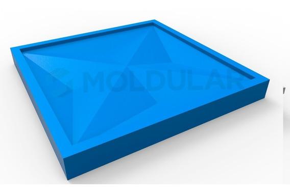 Forma Para Gesso 3d - 100% Silicone - Culinans/ Diamante