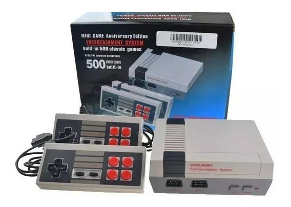Vídeo Game Retro Clássico Super Mini 500 Jogos Entrada Av