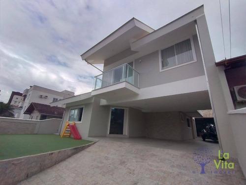 Excelente Residência A Venda, Bairro Agua Verde, 4 Dormitorios, 4 Vagas De Garagem - Ca0587