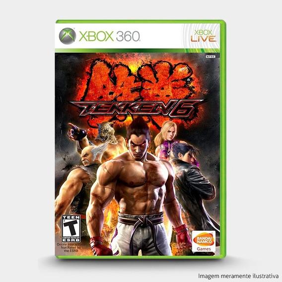 Tekken 6 - Original Para Xbox 360 Novo