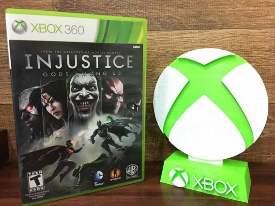 Injustice Gods Among Us Xbox 360 Em Português M Física