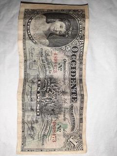Vendo Billete De Guatemala Del Año 1921.