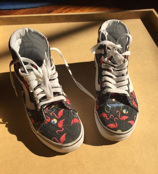 Nuevas! Zapatillas Vans Sk8 Hi Talle 35.5 / Us W 5.5/ Us M 4